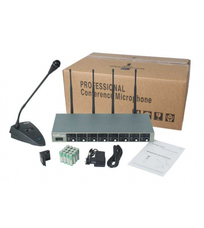 ACEMİC EU-8408 8Lİ FİX WIRELESS CONFERENCE  MICROPHONE SYSTEM