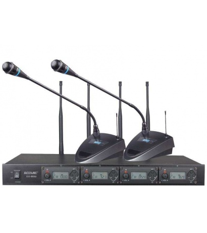 ACEMİC EU-8804 4LÜ  Wireless Conference Microphone