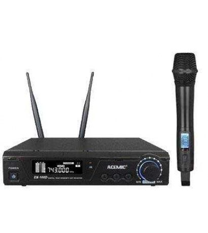 ACEMİC EX-100 Uhf Wireless Microphone EL
