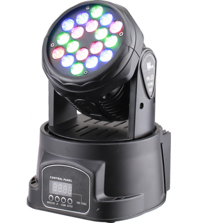 D-LIGHT MV-209 18 LED MOVİNG HEAD MİNİ
