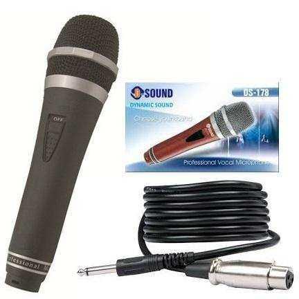 DYNAMİC MİKROFON D-SOUND DS-178R