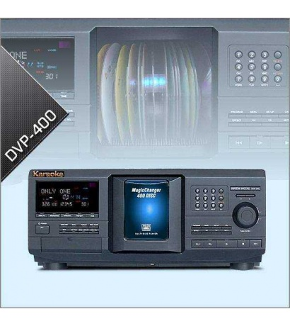 MAGIC CHANGER DVP-400 Disc DVD Player & Changer With HDMI