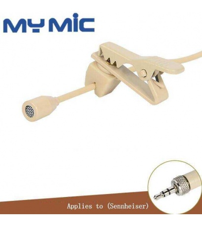 ZL-1720B YAKA MİKROFONU 3.5mm Famale-screw Jack(Sennheiser Type)