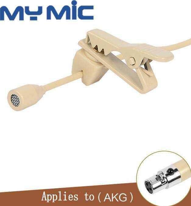 ZL-1720C YAKA MİKROFONU Mini 3Pin XLR Plug(AKG Type)