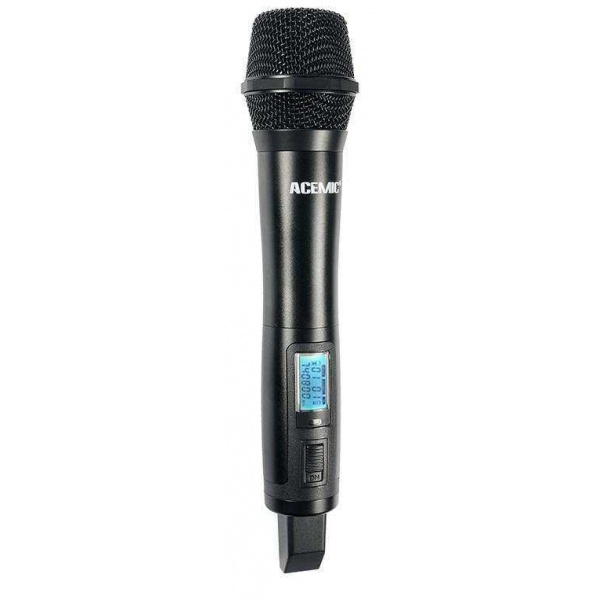 ACEMİC EX-200 Uhf Wireless Microphone Çift El