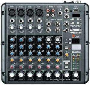 D-SOUND RMV8/2FX DEC MİXER