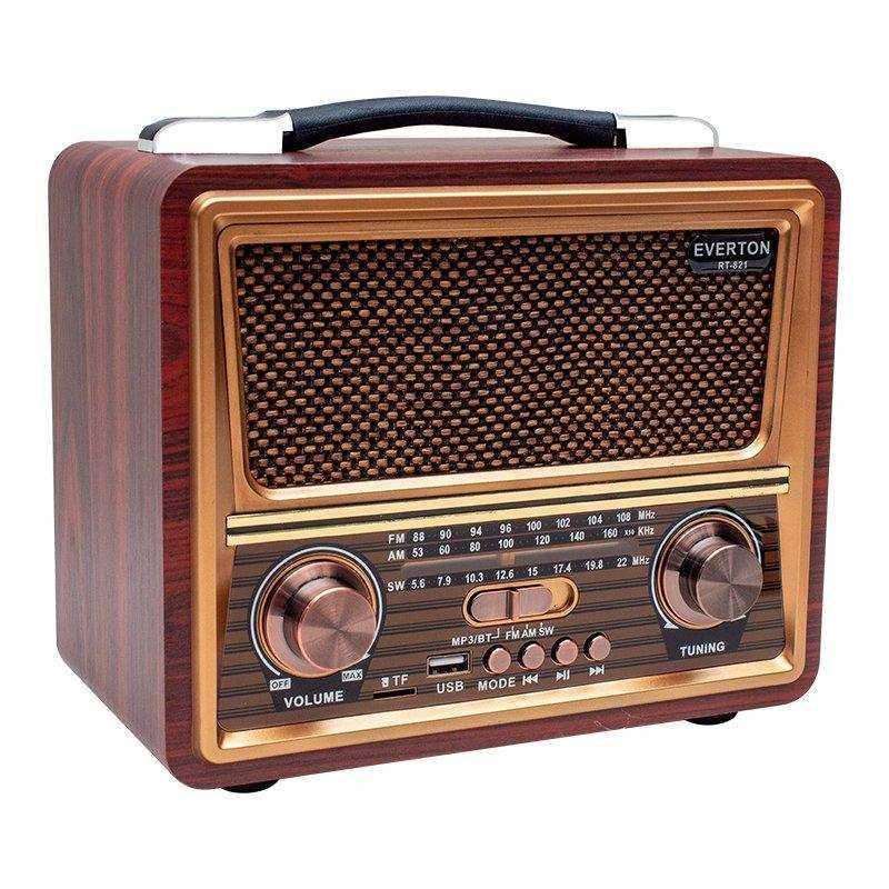 Everton RT-821 Nostaljik Bluetooth Radyo
