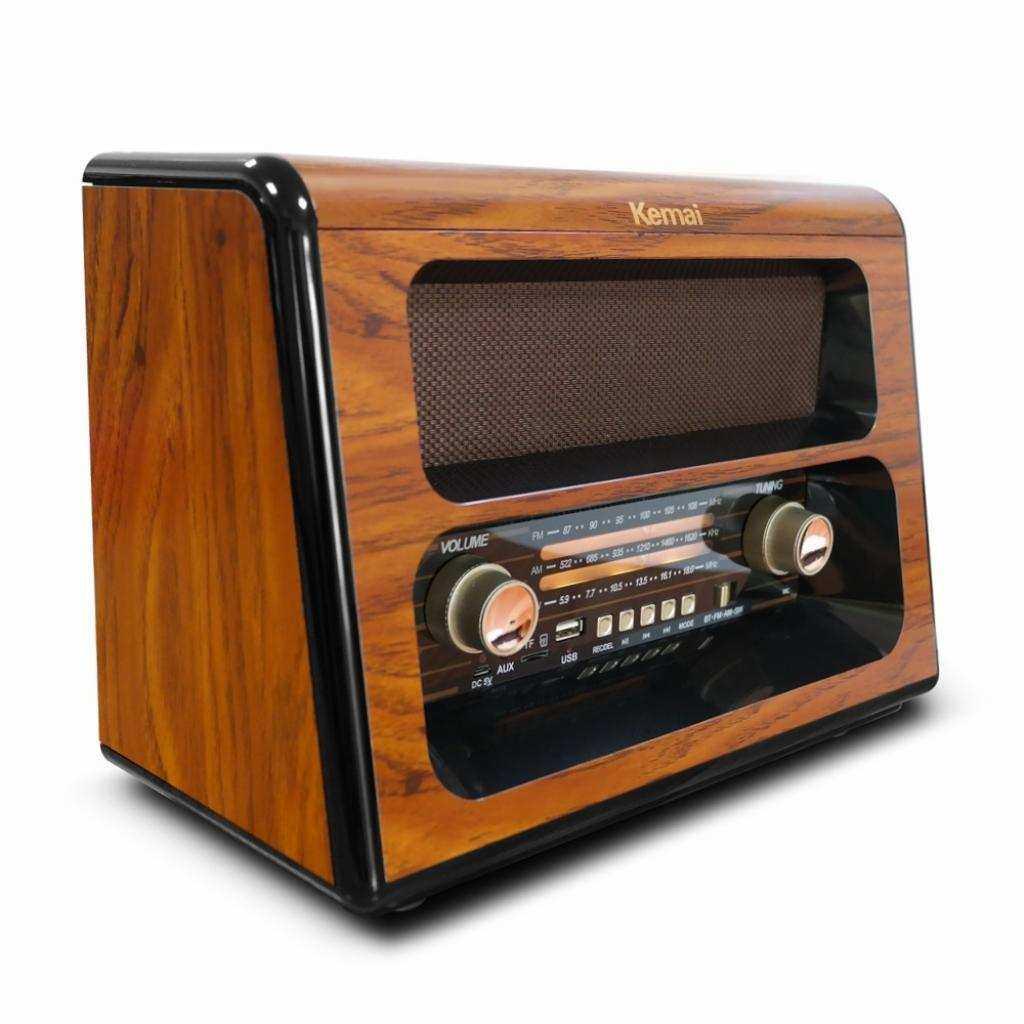 Kemai Bluetooth Usb Sd Fm Radyo Nostaljik Radyo Md-1910BT