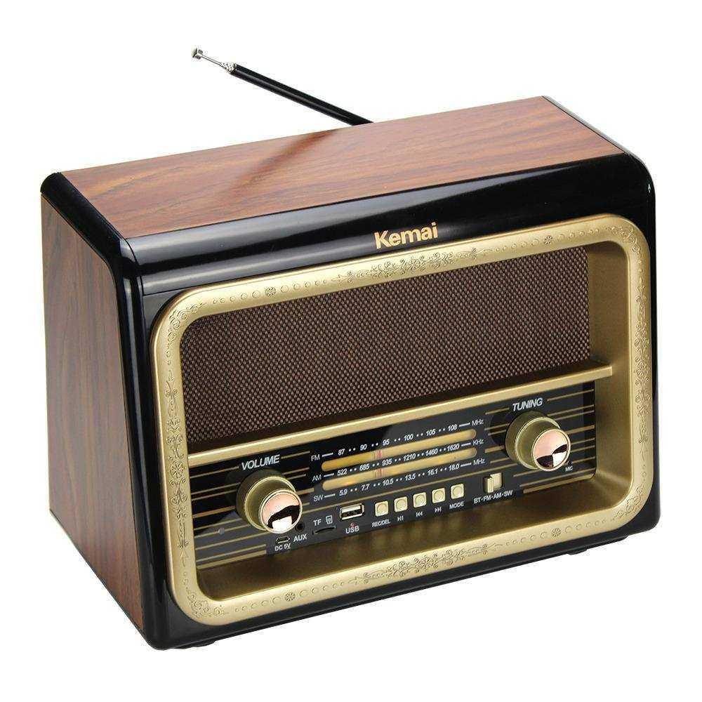 Kemai Bluetooth Usb Sd Fm Radyo Nostaljik Radyo Md-1911bt