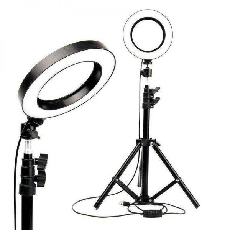 OXID 16-6 16cm/6  Standlı LED Fill Light Photo Studio
