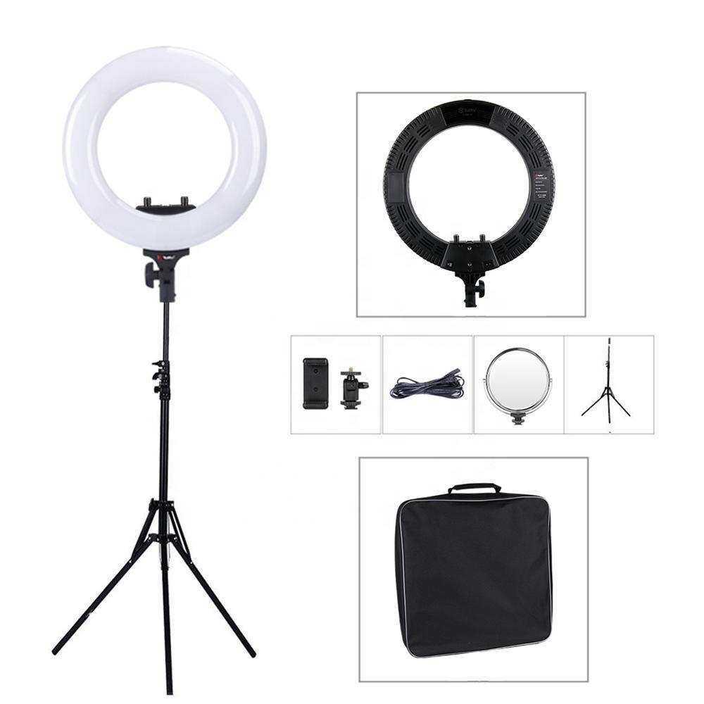 OXID 18 Inch 45Cm Çantalı+Standlı LED Fill Light Photo Studio