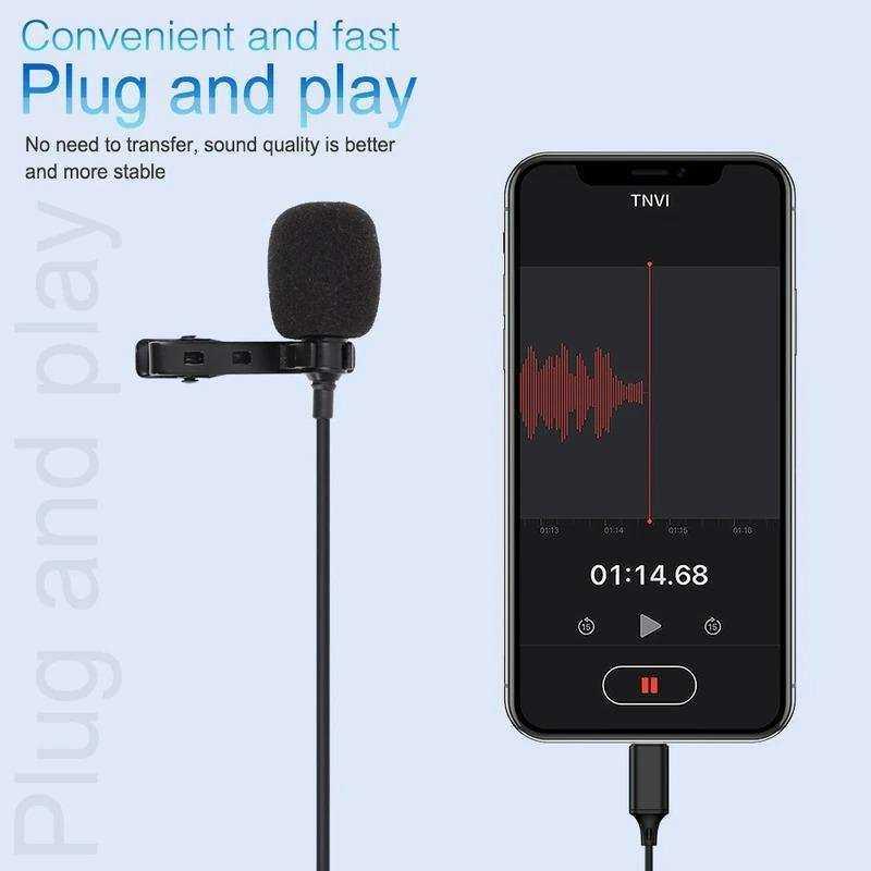 VONK ER09 IPHONE LIGHTNING Youtuber Yaka Mikrofonu