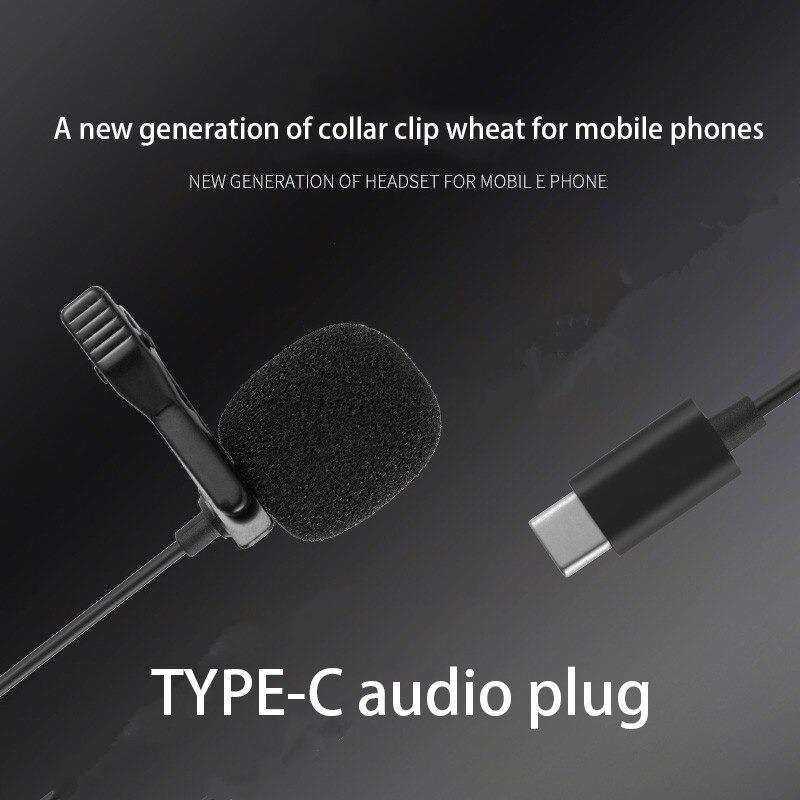 VONK ER09 TYPE-C Youtuber Yaka Mikrofonu
